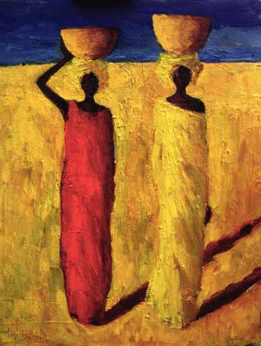 "ORIENTAL y AFRICA  /""Calabash Girls, 1991"" (Willis, Tilly)"