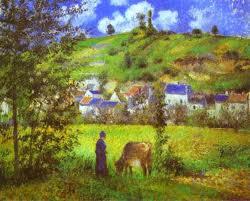 Paisaje Rural-Pissarro